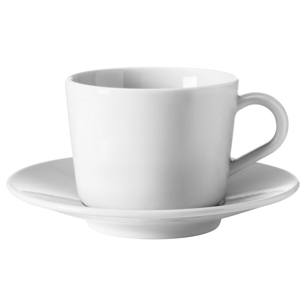 Чашка с блюдцем ИКЕА/365+