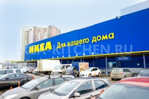 Парковка ИКЕА Химки