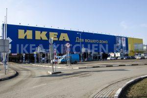 Подъезд к магазину ИКЕА Белая Дача