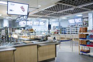 Кухня ресторана ИКЕА Белая Дача