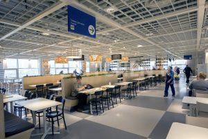 Ресторанная зона в ИКЕА Теплый Стан
