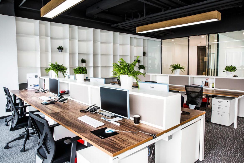 Создание дизайна современного офиса