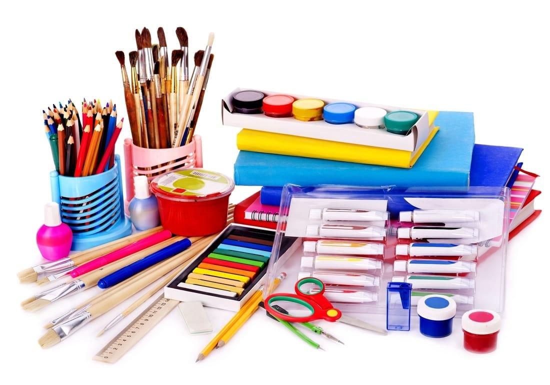 Виды товаров для творчества
