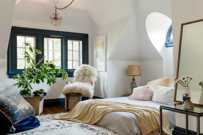 Как улучшить спальную комнату