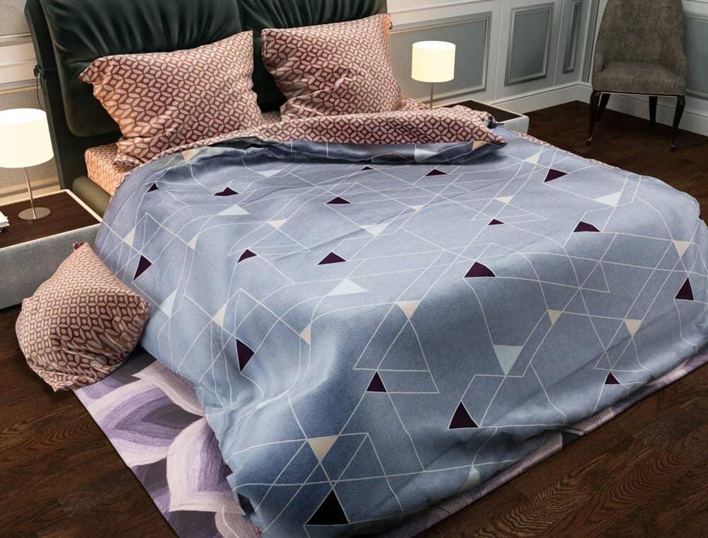 Пример оформления с постельным бельем