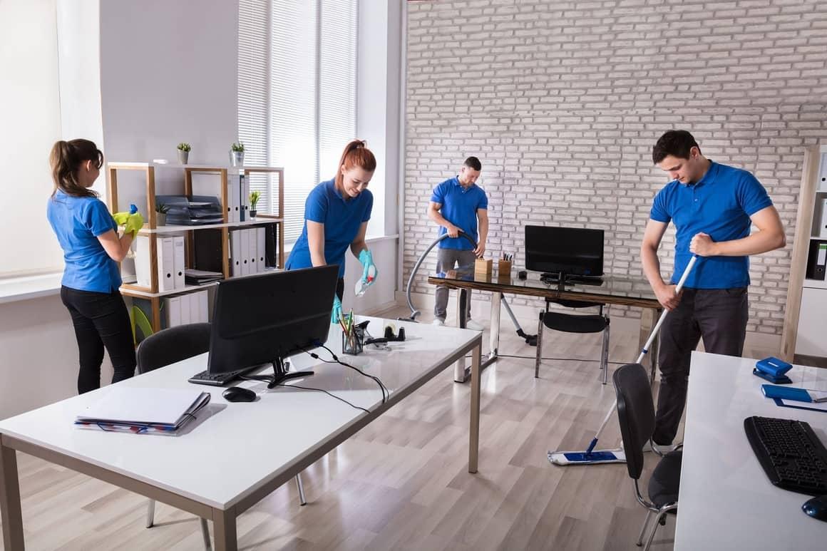 Что представляет собой качественный клининг офиса