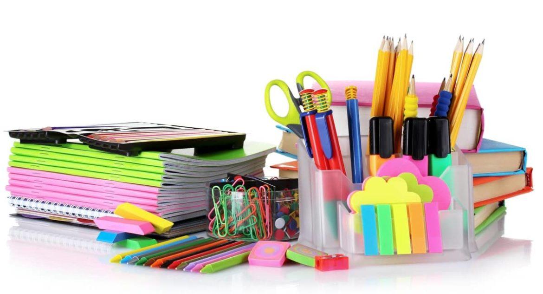 Офисная канцелярия: ручки, карандаши, калькуляторы и прочее