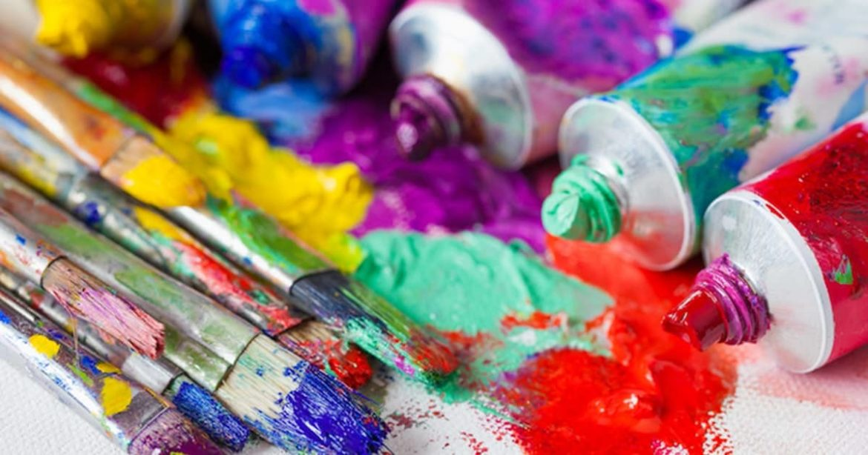 Краски для рисования: разновидности
