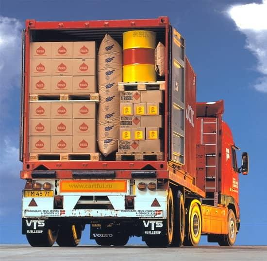 Каждая единица транспорта может перевозить множество разных грузов