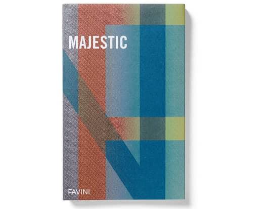 Favini Majestic - уникальная дизайнерская бумага с металлизированным двухсторонним покрытием